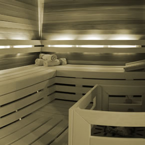 Wellness Spa Sauna in Val Gardena