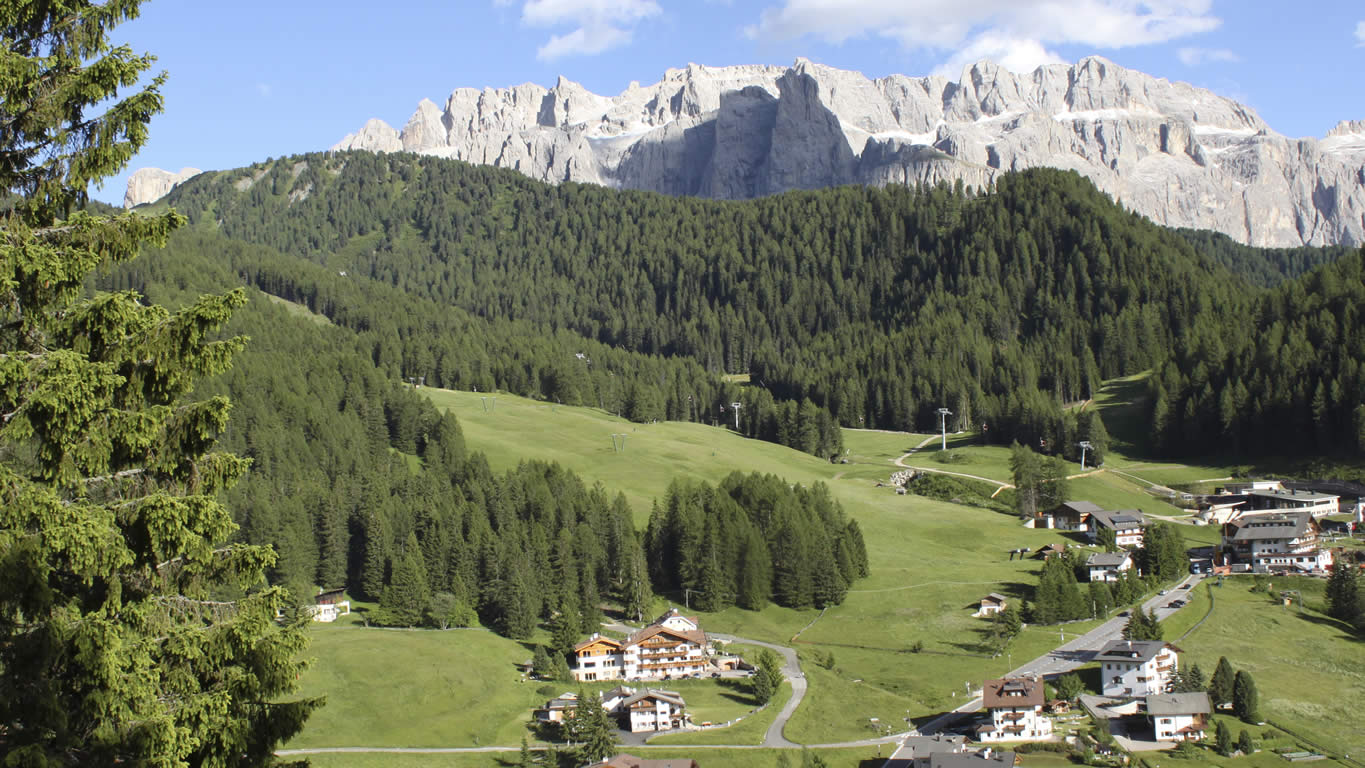 Garni Hotel Rosengarten in the Dolomites